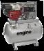 Цены на ABAC EngineAIR B5900B/ 270 7HP Компрессор EnginAIR B5900B/ 270 7.1HP на раме незаменим при необходимости получения сжатого воздуха без подключения к сети электроснабжения. Бензиновый мотор Honda 7,  1 л.с. Прямой регулируемый клапан выхода воздуха Ребристый с