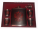 """Цены на Подарочный набор 18oz - 0.5л """"Герб - 2"""" Подарочный набор """"Герб"""": фляжка 9oz 0,  5 литра,   4 стопки,   лейка."""
