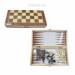 Цены на Настольная игра 3 в1 (шахматы,   шашки,   нарды),   L39,  5 W19,  5 H4 см