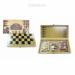Цены на Настольная игра 3 в1 (шахматы,   шашки,   нарды),   L35,  5 W19 H5,  5 см