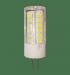 Цены на Лампа светодиодная LED - JC - standard 3Вт 12В G4 270Лм ASD (теплый белый) 4690612004624 Лампа светодиодная LED - JC - standard 3Вт 12В G4 270Лм ASD