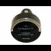 Цены на Универсальное автомобильное зарядное устройство на 2 USB выхода 1000mAh,   2100mAh (Черный) Универсальное зарядное устройство подключается (вставляется) вместо прикуривателя в автомобиле (подходит для любого автомобиля).