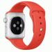 Цены на Силиконовый ремешок Sport для Apple Watch 42 мм (Оранжевый) Стильный cиликоновый браслет создан специально для Apple Watch 42 мм,   выполнен в оранжевом цвете. Замена ремешка не требует усилий,   пользователь apple watch может легко менять браслет в соответст