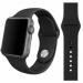 Цены на Силиконовый ремешок Sport для Apple Watch 42 мм (Серый) Стильный cиликоновый браслет создан специально для Apple Watch 42 мм,   выполнен в черном цвете. Замена ремешка не требует усилий,   пользователь apple watch может легко менять браслет в соответствии с н