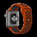 Цены на Спортивный ремешок Nike Style для Apple Watch 42 мм (Красный с черным) Мягкий силиконовый ремешок Nike c для Apple Watch с корпусом 42 мм изготовлен из фторэластомера  -  сверхпрочного и приятного на ощупь силикона. Удобно и надежно фиксируется застежкой pi