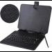 Цены на Универсальный чехол книжка с клавиатурой для планшета 8 - 9 (Черный) Универсальный кожаный чехол книжка для планшетных компьютеров,   планшетов и электронных книг 8 - 9 дюймов. Стильный,   модный,   удобный чехол защитит Ваше цифровое устройство,   дополнит Ваш индив