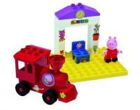 BIG Свинка Пеппа 57072 Поезд с остановкой