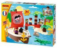 Ecoiffier Abrick Themed sets 3179 Сокровища пиратов