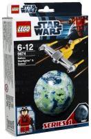 LEGO Star Wars 9674 Истребитель Набу и планета Набу