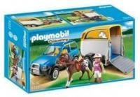 PLAYMOBIL Авто с прицепом для коня (5223)
