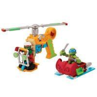Playmates Патрульный вертолет и эксклюзивная фигурка Рафаэля (96704)