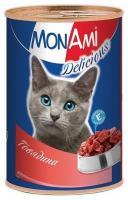 Mon Ami Консервы (с говядиной) 350 г
