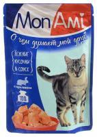 Mon Ami Нежные кусочки в соусе (кролик) 100 г