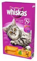 Whiskas Аппетитное ассорти с мясом птицы (для пожилых кошек) 0,35 кг