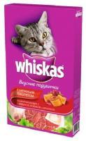 Whiskas Подушечки с нежным паштетом Говядина, ягненок, кролик 0,35 кг