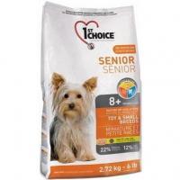 1st CHOICE Seniors Toy & Small Breeds 2,72 кг